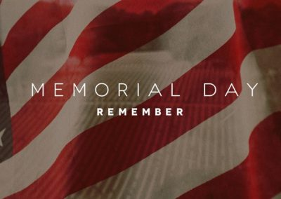 Being Grateful on Memorial Day