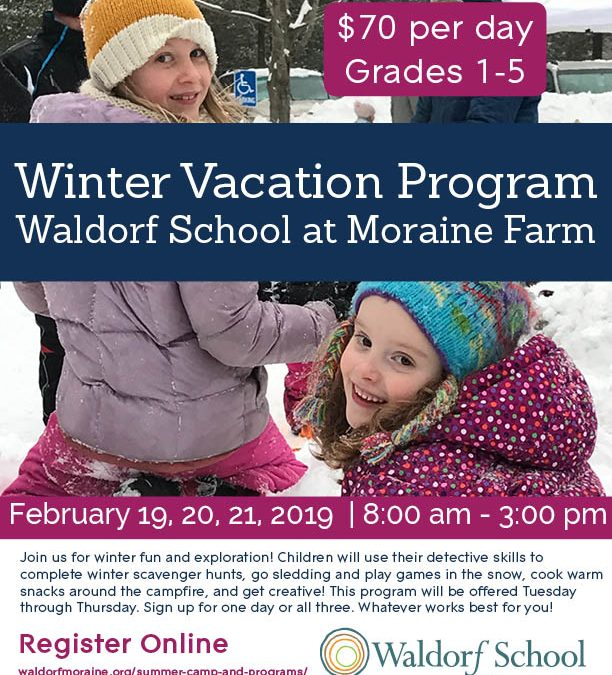 Winter Vacation Program Canceled