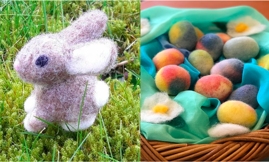 Introduction to Felting Workshop this Saturday, April 6