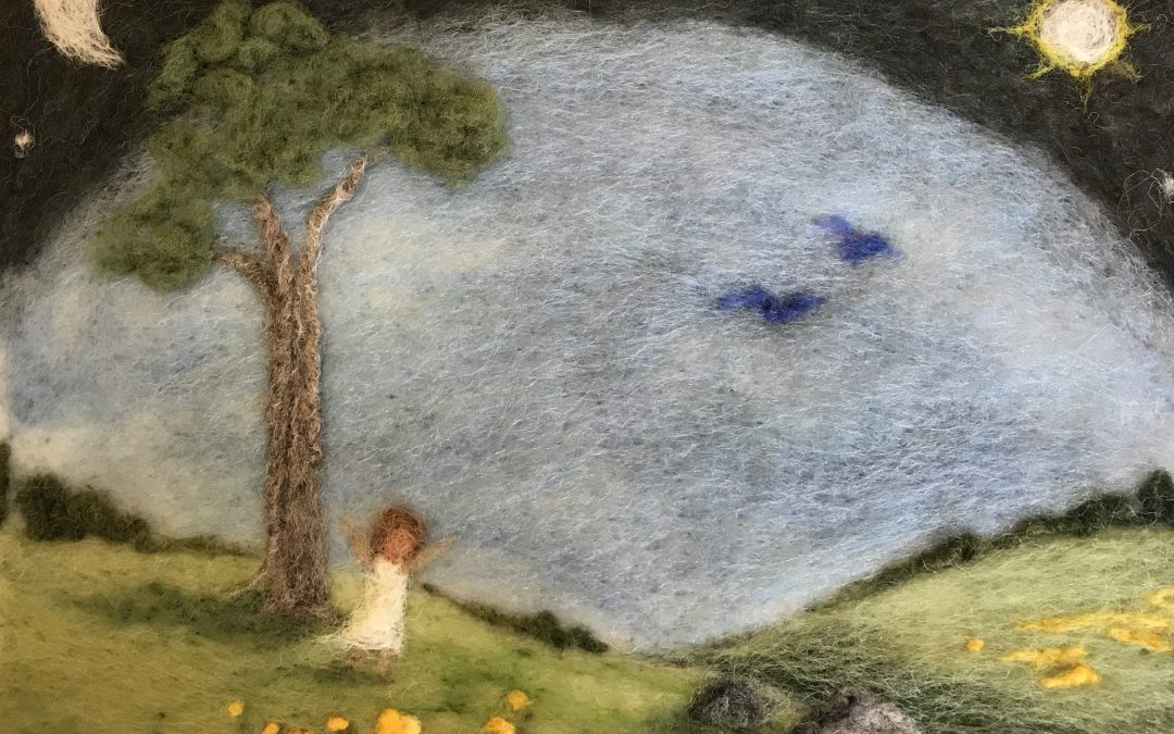 Painting with Wool Workshop June 1