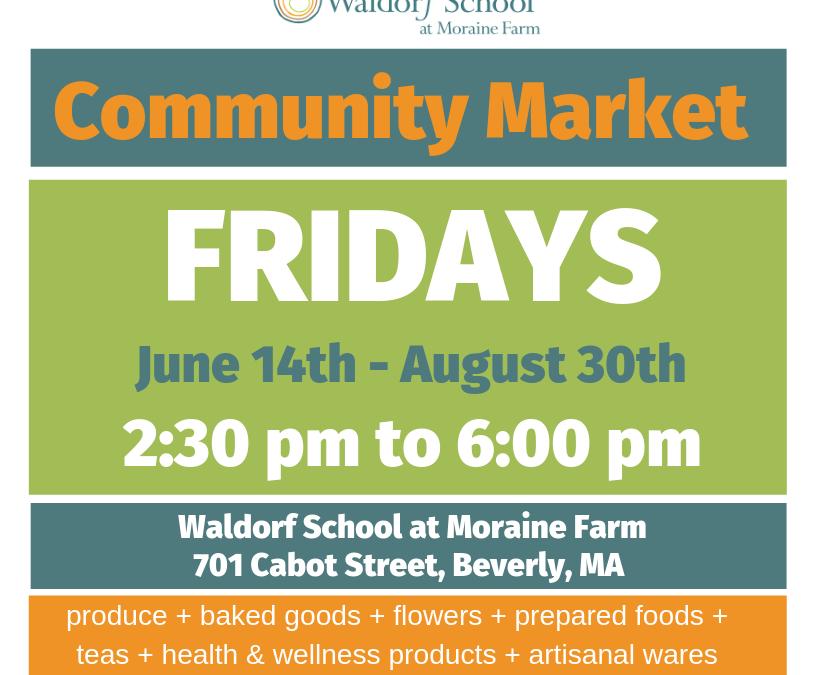 Summer Community Market Two More Fridays