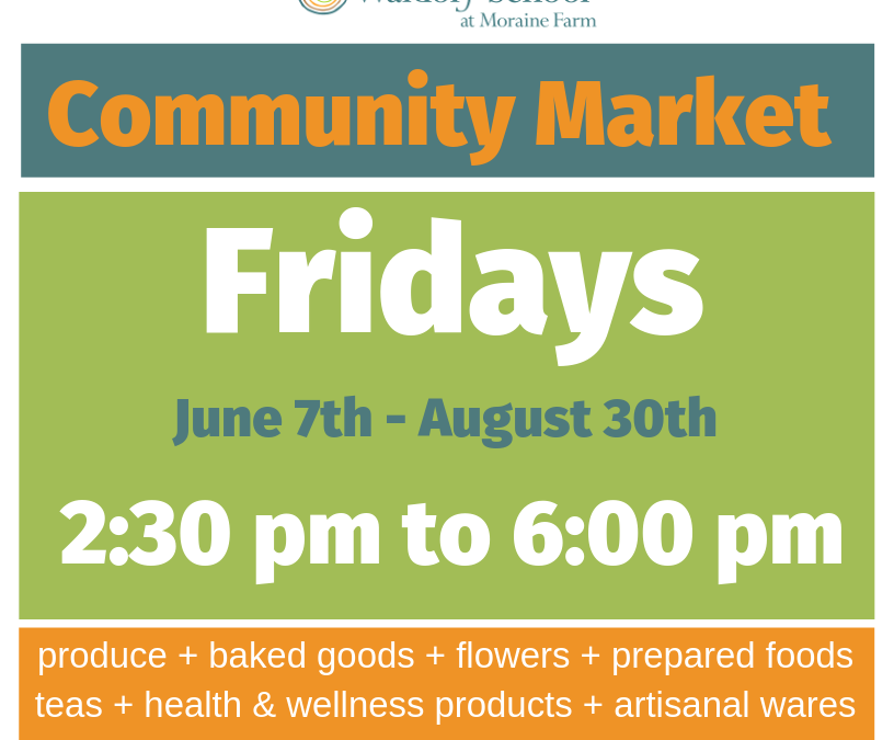 Community Market Every Friday. Sign up for Preorders, CSA Shares and more