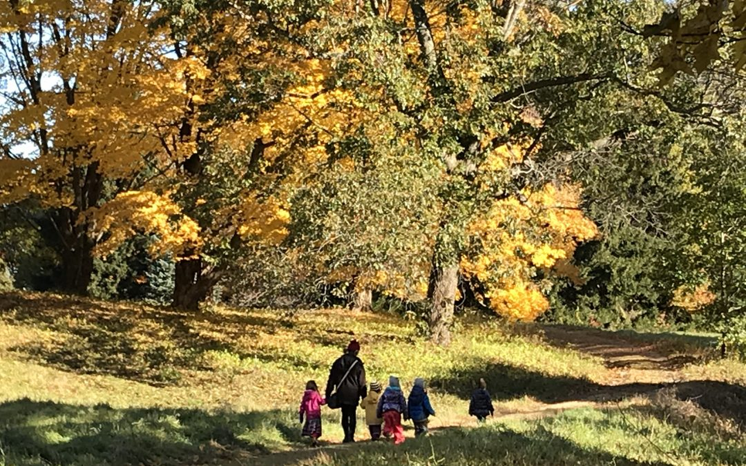 Nursery and Kindergarten Nature Walk for Current & Interested Families